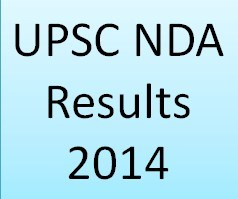 UPSC NDA 1 Exam 2014 Results