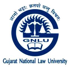 Gujarat National Law University Recruitment 2015