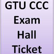 Download Hall Tickets GTU CCC Exam