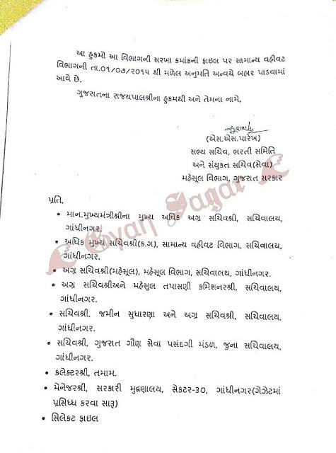 1500 Revenue Talati Exam 2014 Cancellation 1