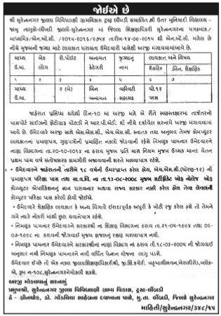 Vahivati Sahayak Job at Jambu Village , Limbdi Taluka , Surendranagar District