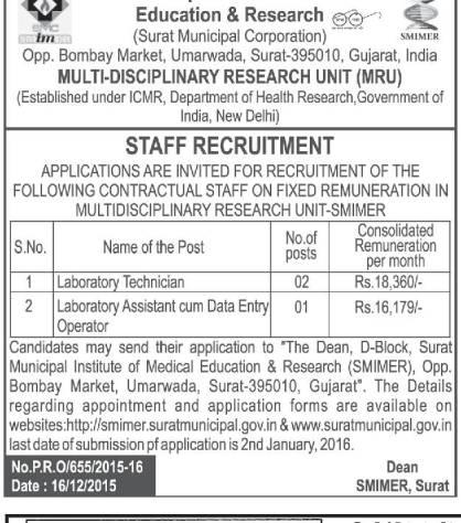 surat staff recruitment