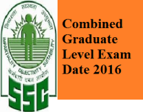 SSC CGL 2016 Notification
