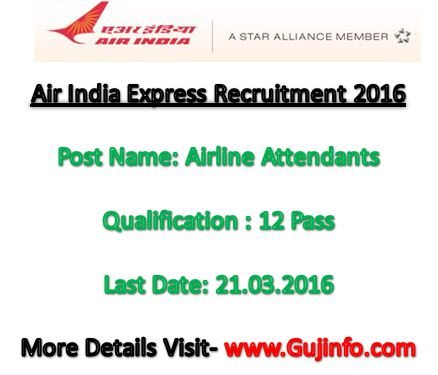 Air India Express Recruitment 2016