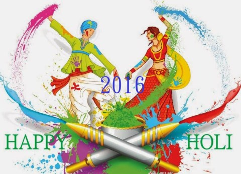 Happy holi wishes 2016