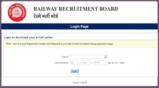 RRB NTPC admit card 2016