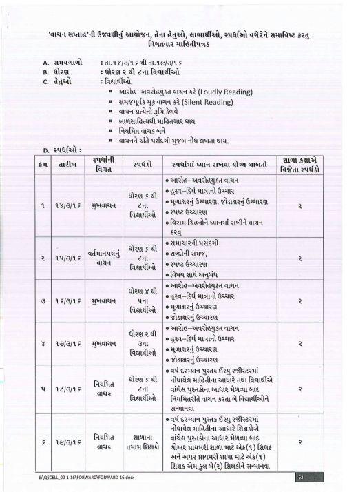 Vachan Saptah 2016 Paripatra page2