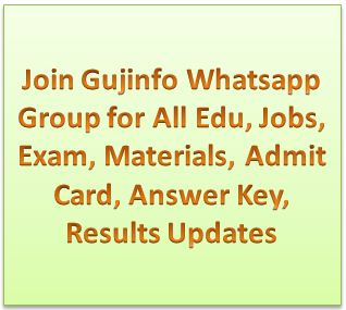 Join Gujinfo Whatsapp Group for All Educational Updates