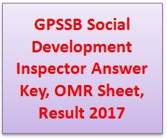 GPSSB Social Development Inspector