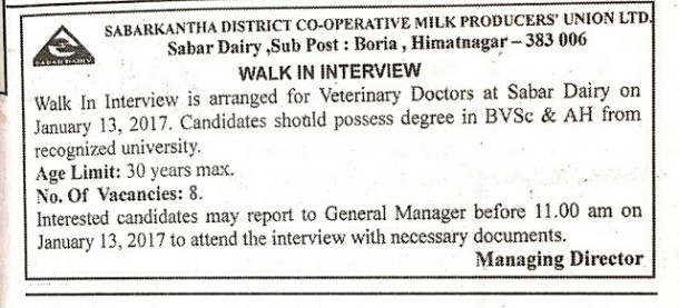Sabar Dairy Interview 2017