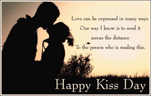Happy Kiss Day 2017 sms