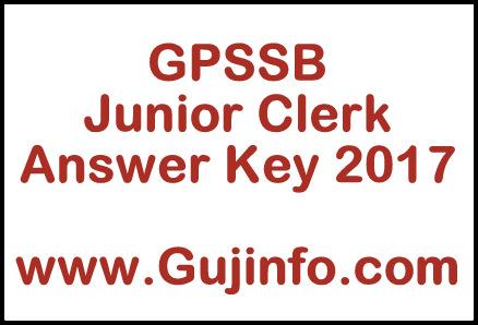 Junior Clerk Answer Key 2017 pdf