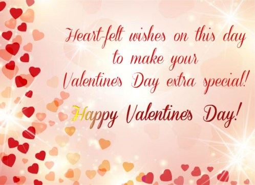 Valentine Greeting Cards SMS 2017