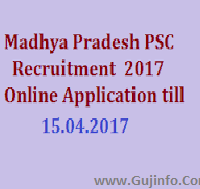MPPSC SES AE Recruitment 2017