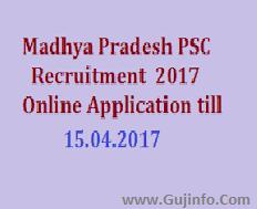 MPPSC SES AE Recruitment 2017