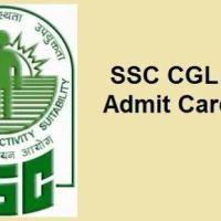 SSC CGL Tier 3 Admit Card 2017