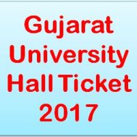 Gujarat University Hall Ticket 2017