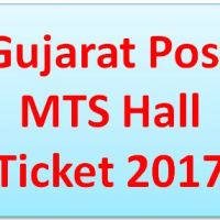 Gujarat Postal Circle MTS Call Letter 2017
