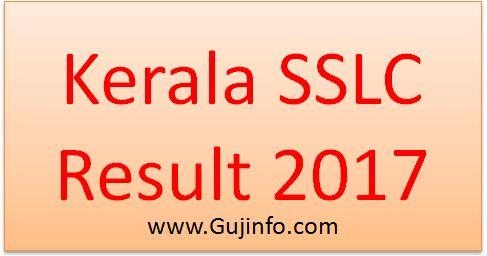 Kerala SSLC Result 2017