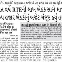 RTE Gujarat Admission 2018-19