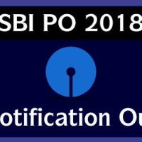 SBI PO 2018 Notification