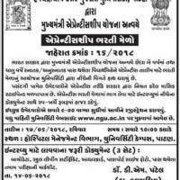 HNGU Apprentice Bharti Mela