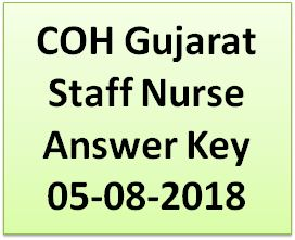 COH Staff Nurse Answer Key