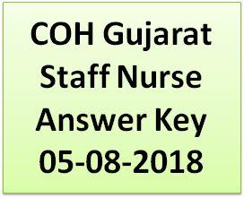 COH Staff Nurse Answer Key