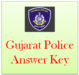 gujarat police answer key