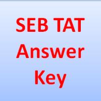 seb tat answer key 2019