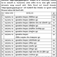 GSSSB Supervisor Instructor Recruitment 2019
