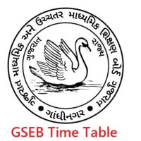 gseb.org time table 2020