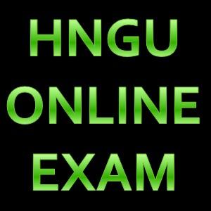 hngu online exam