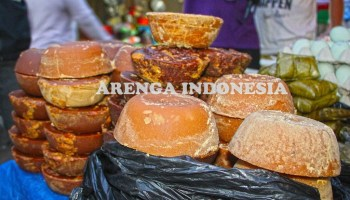 Gula aren Kandangan Kalimantan Selatan