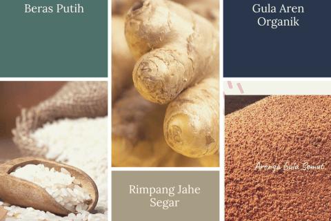 Resep dan manfaat beras kencur