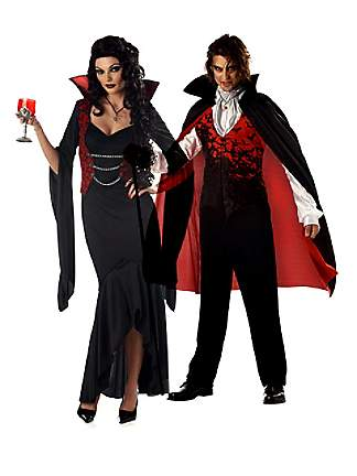 Costume Couple Dracula