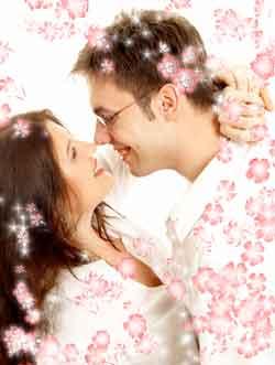 Couple romantique