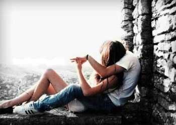 Photo d'une couple amoureux