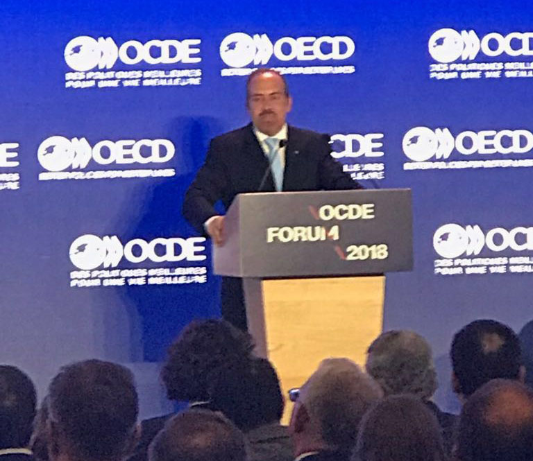 BIAC General Assembly, OECD Forum on May 29 – 30, 2018 and W20@OECD, Paris