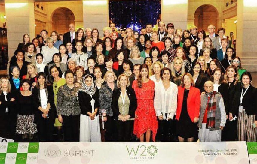 Thank you, Women 20, - W20 Argentina! All the best, Women 20 - W20 Japan!