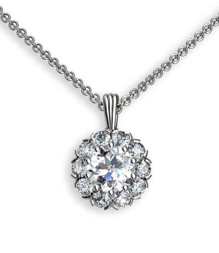 diamanthängsmycke