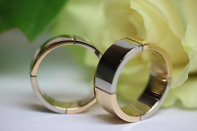 breda designade ringar