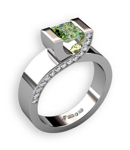 designa ring vitguld