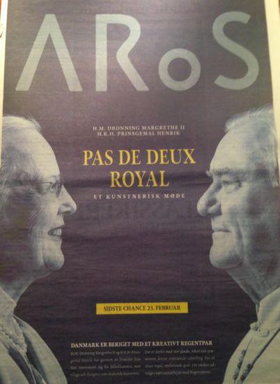 """Udstillingerne på Aros  """"Pas de deux royal"""""""