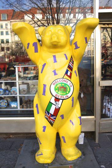 """Buddy Bears"" Berlin Bjørnen"