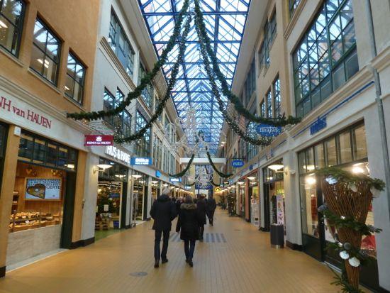 Jul i Slotsarkaderne i Hillerød