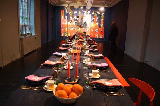 Livsstilseksperten Anne Glads bord.