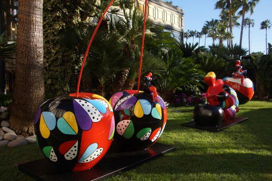 Skulptur i Cannes
