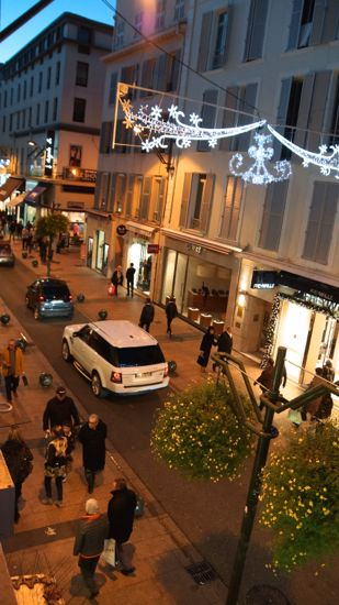 Rue d´Antibes i Cannes