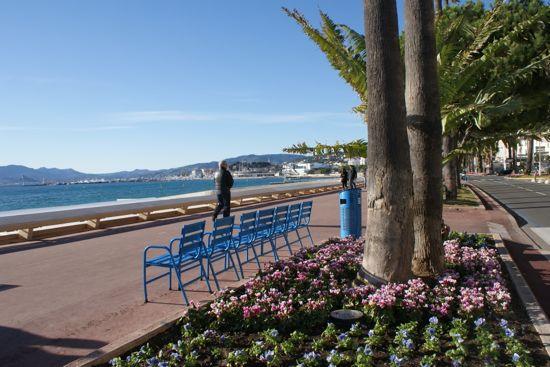 La Croisette i Cannes